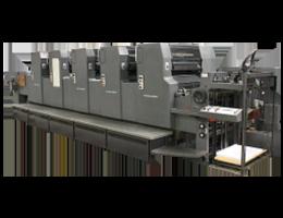 Офсетная печатная машина в типографии Assa print - Heidelberg MOF65